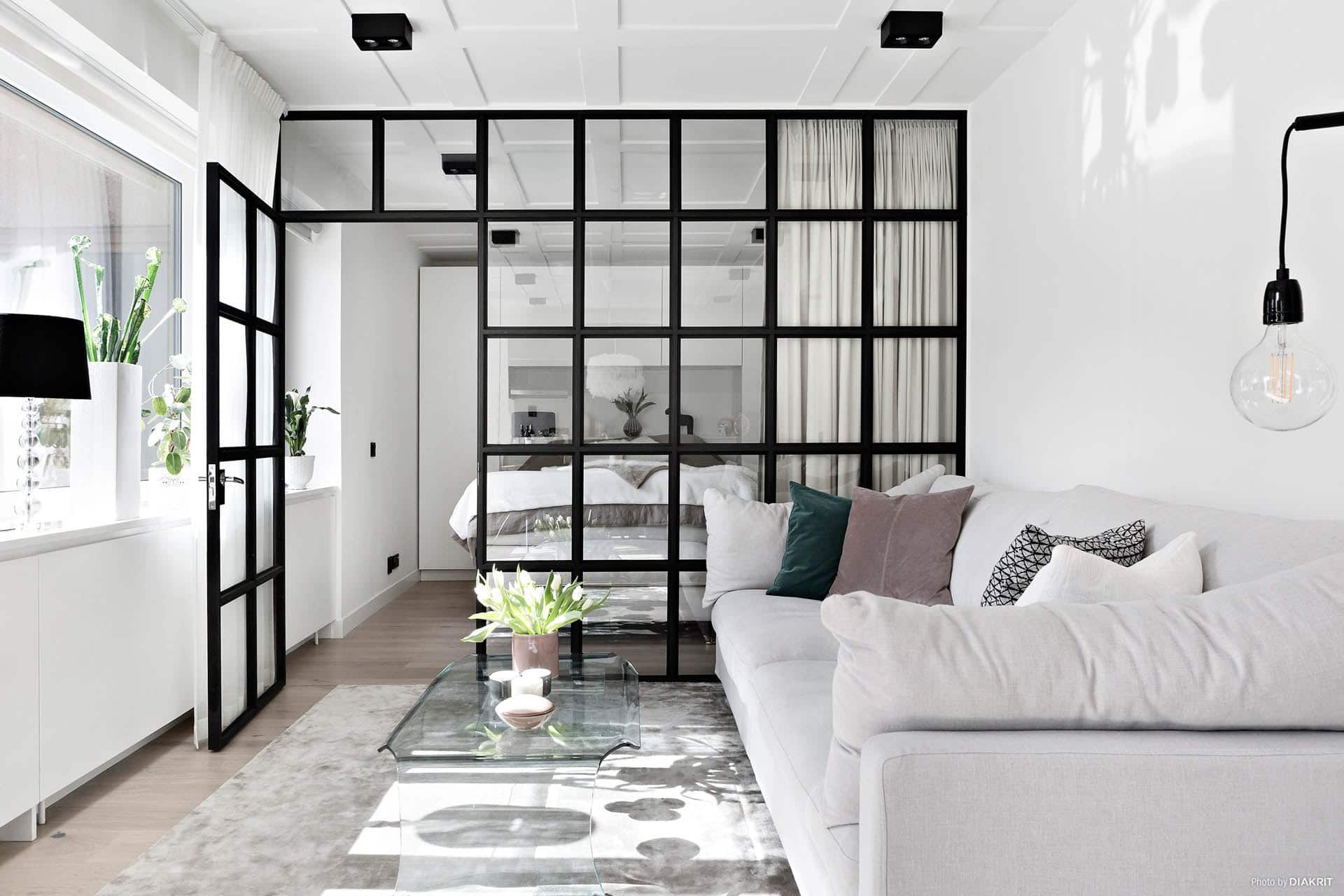 am nager vos pi ces avec une verri re d 39 int rieur. Black Bedroom Furniture Sets. Home Design Ideas