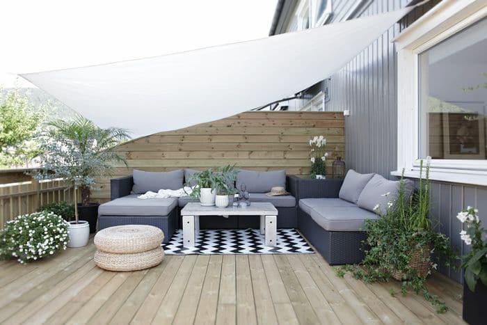 création d'une terrasse en bois