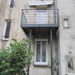 rénovation maison création balcon terrasse structure métallique Nancy