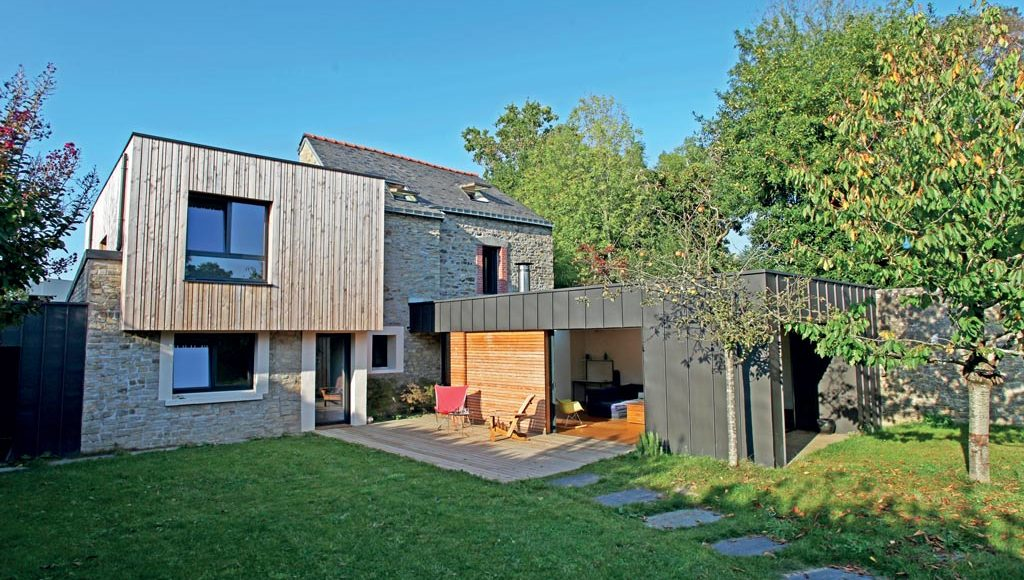agrandissement de maison en bois