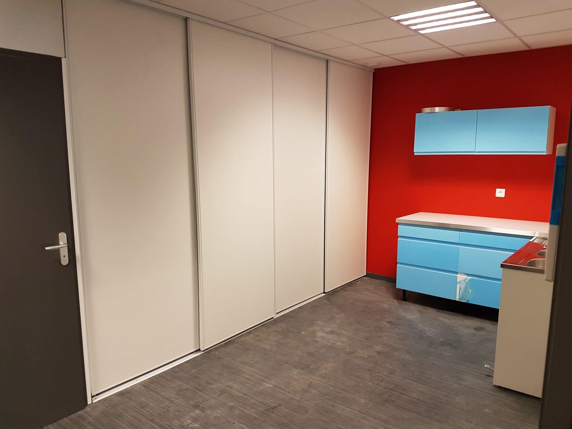 Transformation d'un ancien local de bureau en cabinet médical à Lyon (69)