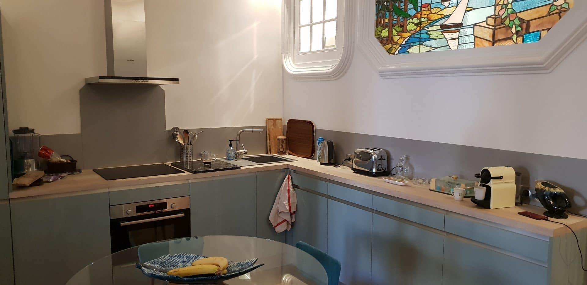 Rénovation d'un appartement atypique à Lyon (69)