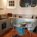 renovation appartement cuisine équipée aménagée moderne salle à manger Lyon