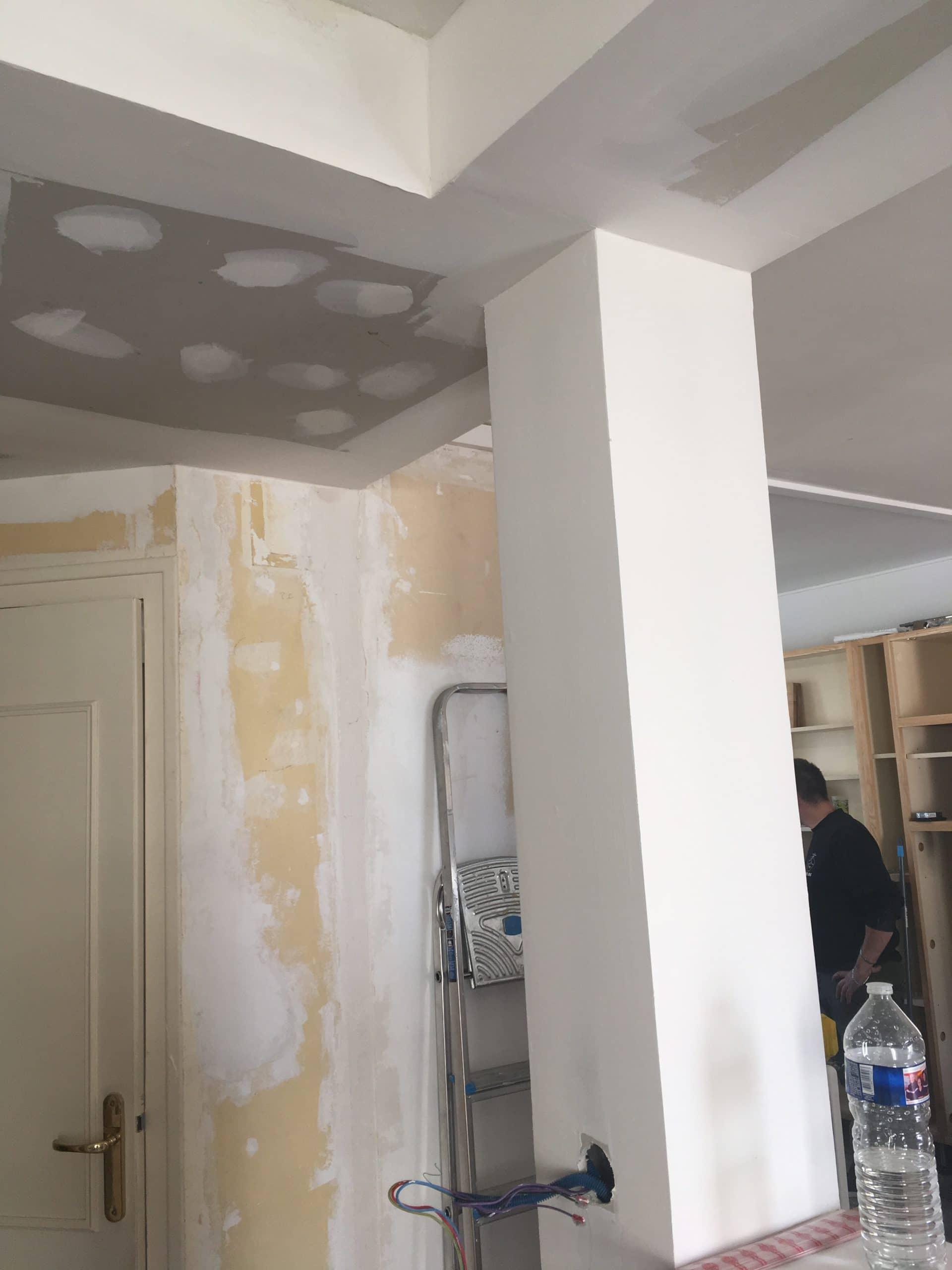 Rénovation de l'installation électrique et de plomberie d'un appartement à Poitiers (86)