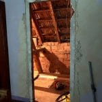 rénovation maison salle de bain combles perdus avant travaux Dinsheim sur Bruche