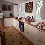 rénovation maison cuisine meuble contemporain Lyon 5