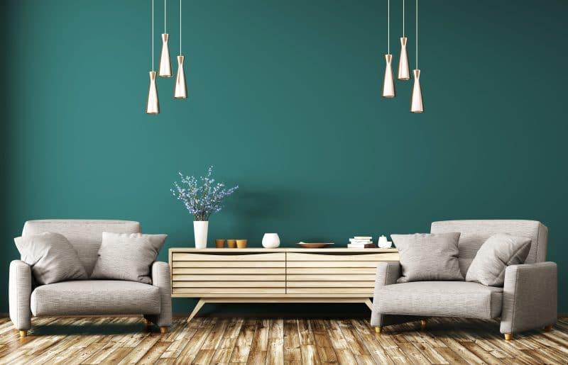 peinture murs et revêtement sols