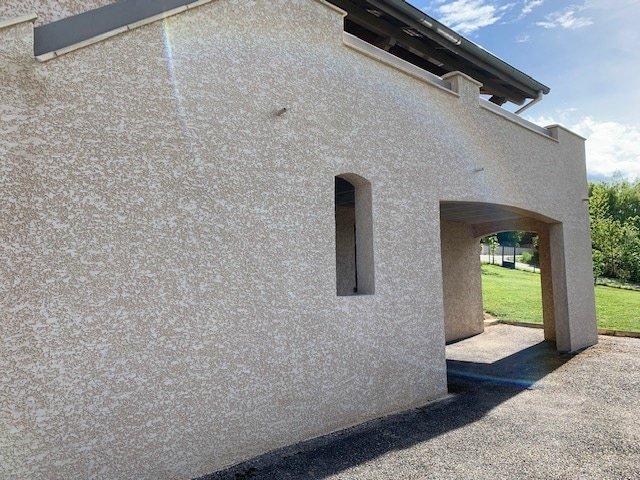 Ravalement de façade d'une maison à Saint-Chamond (42)