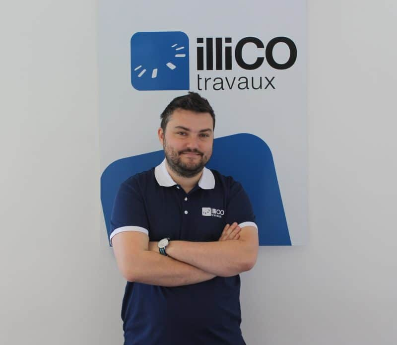 Romain Tisclibout responsable illiCO travaux Arras
