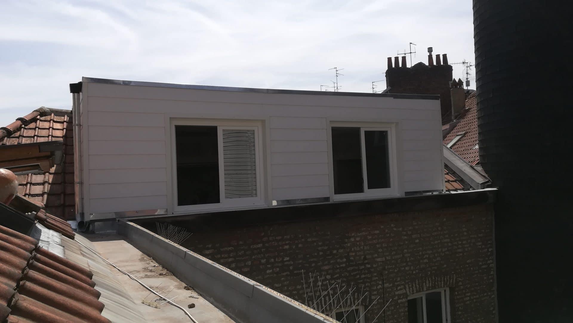 Surélévation d'un appartement à Lille (59)