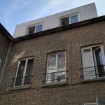 création grande lucarne appartement extérieur menuiserie isolation Lille