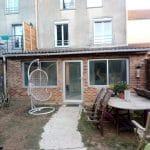 création toit terrasse avant travaux extension de maison Chanteloup-en-Brie