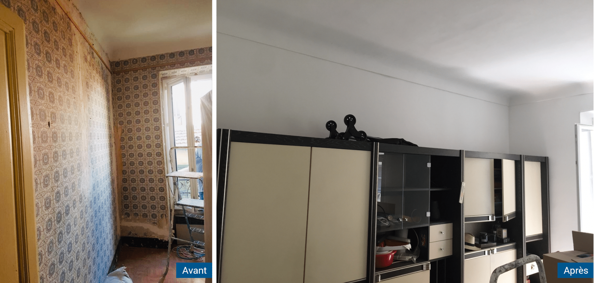 Relooking Appartement Avant Après avant/après d'une rénovation d'appartement à antibes par illico travaux