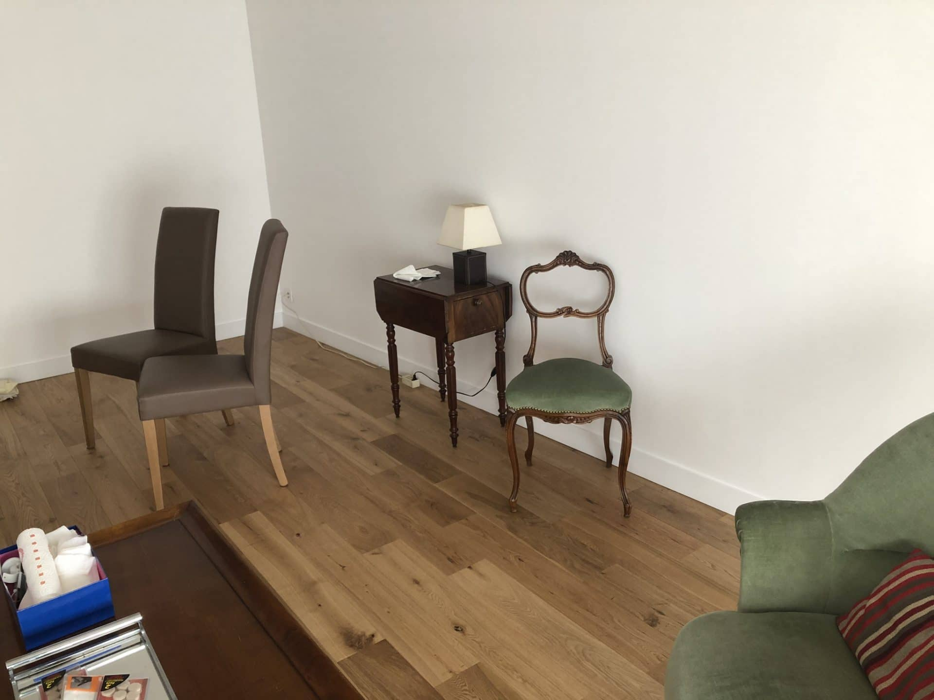 Rénovation partielle d'un appartement dans le 11e arrondissement de Paris