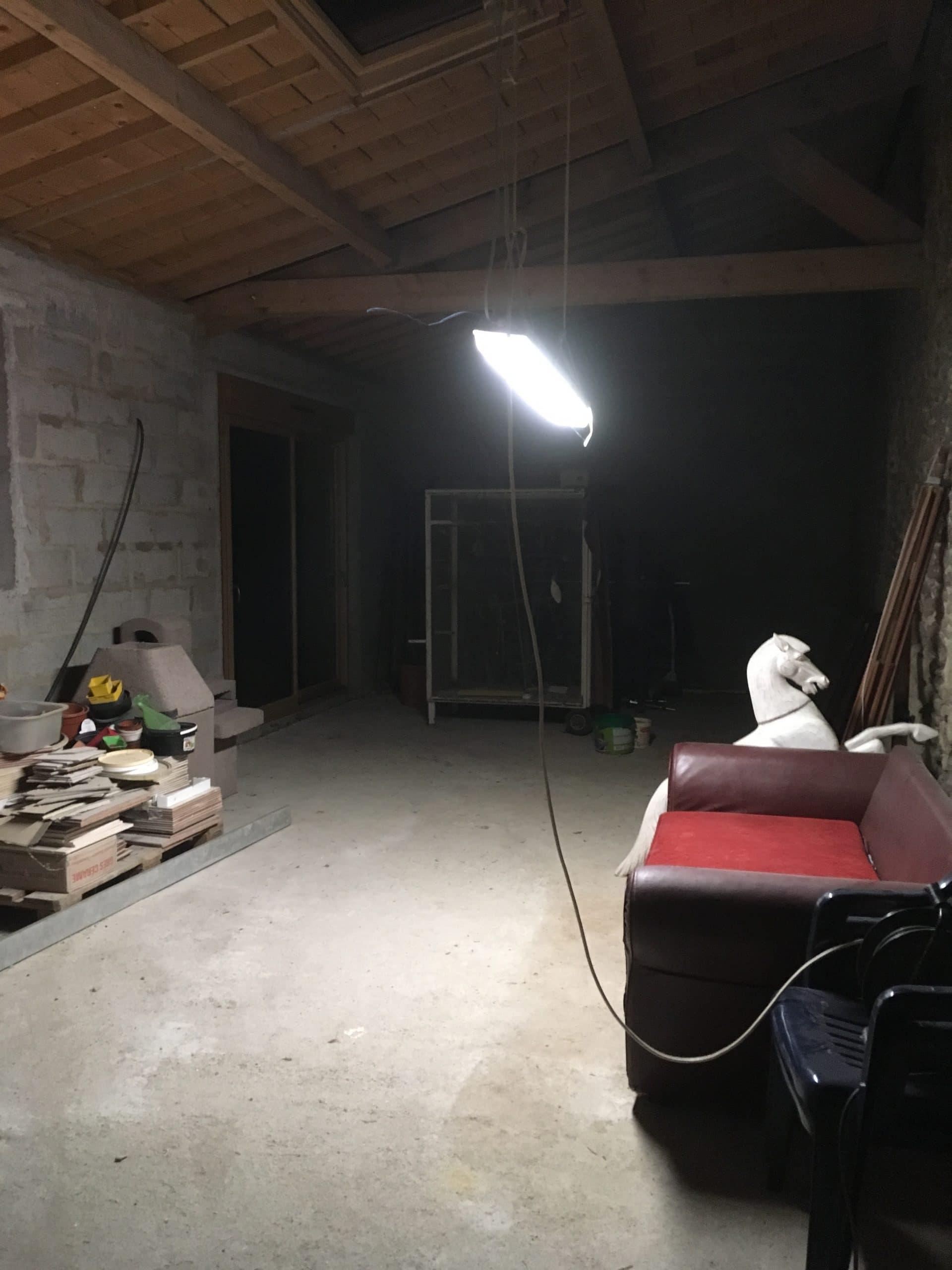 Rénovation complète d'une longère à Landaul (56)