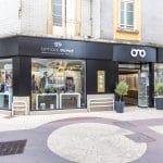 rénovation magasin optique extérieur Châtellerault