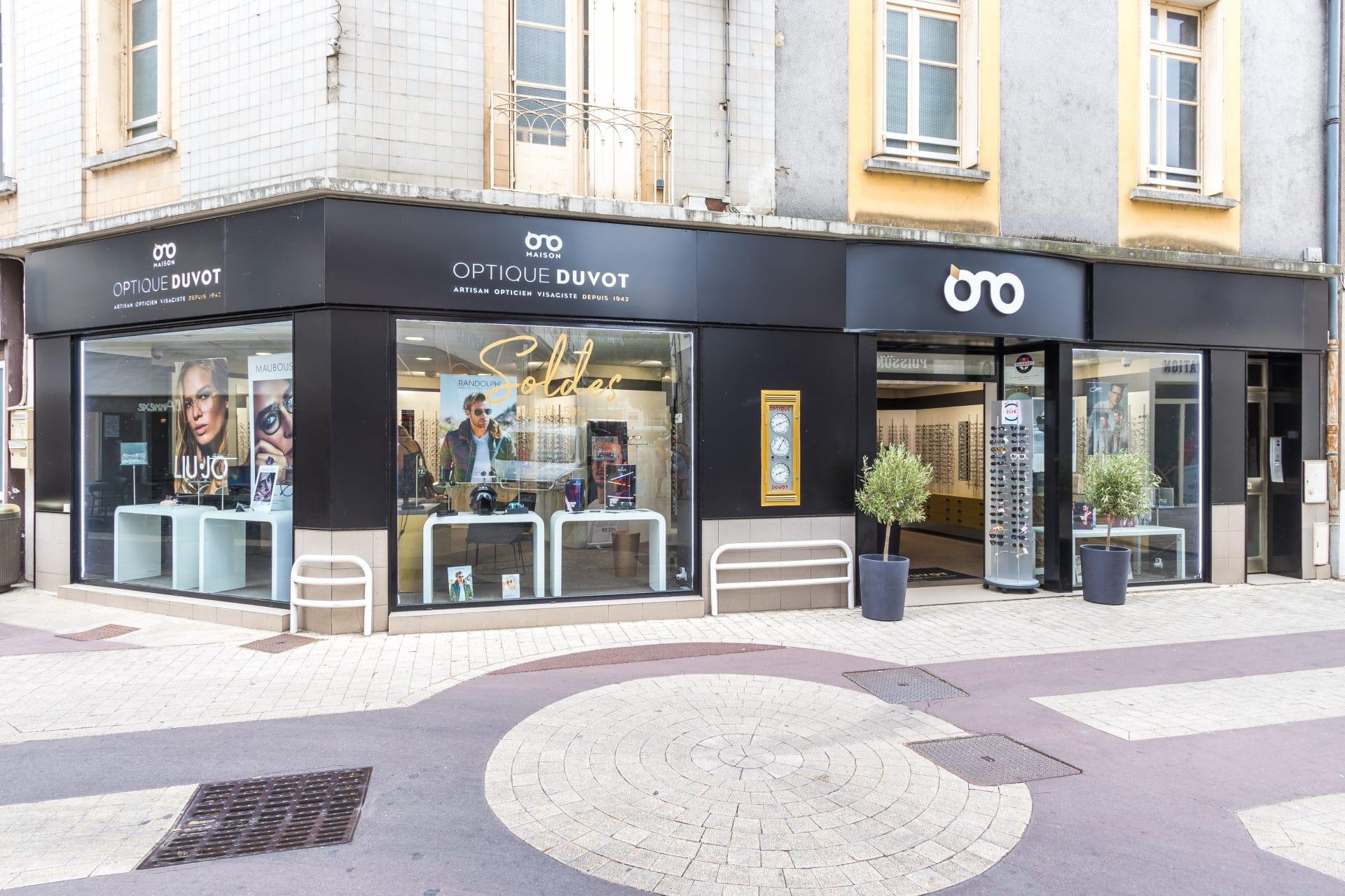 Rénovation d'un magasin d'optique à Châtellerault (86)