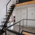 rénovation surélévation maison escalier métal Bègles