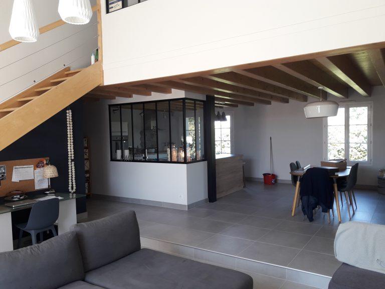 Rénovation d'une maison moderne à Echiré (79)