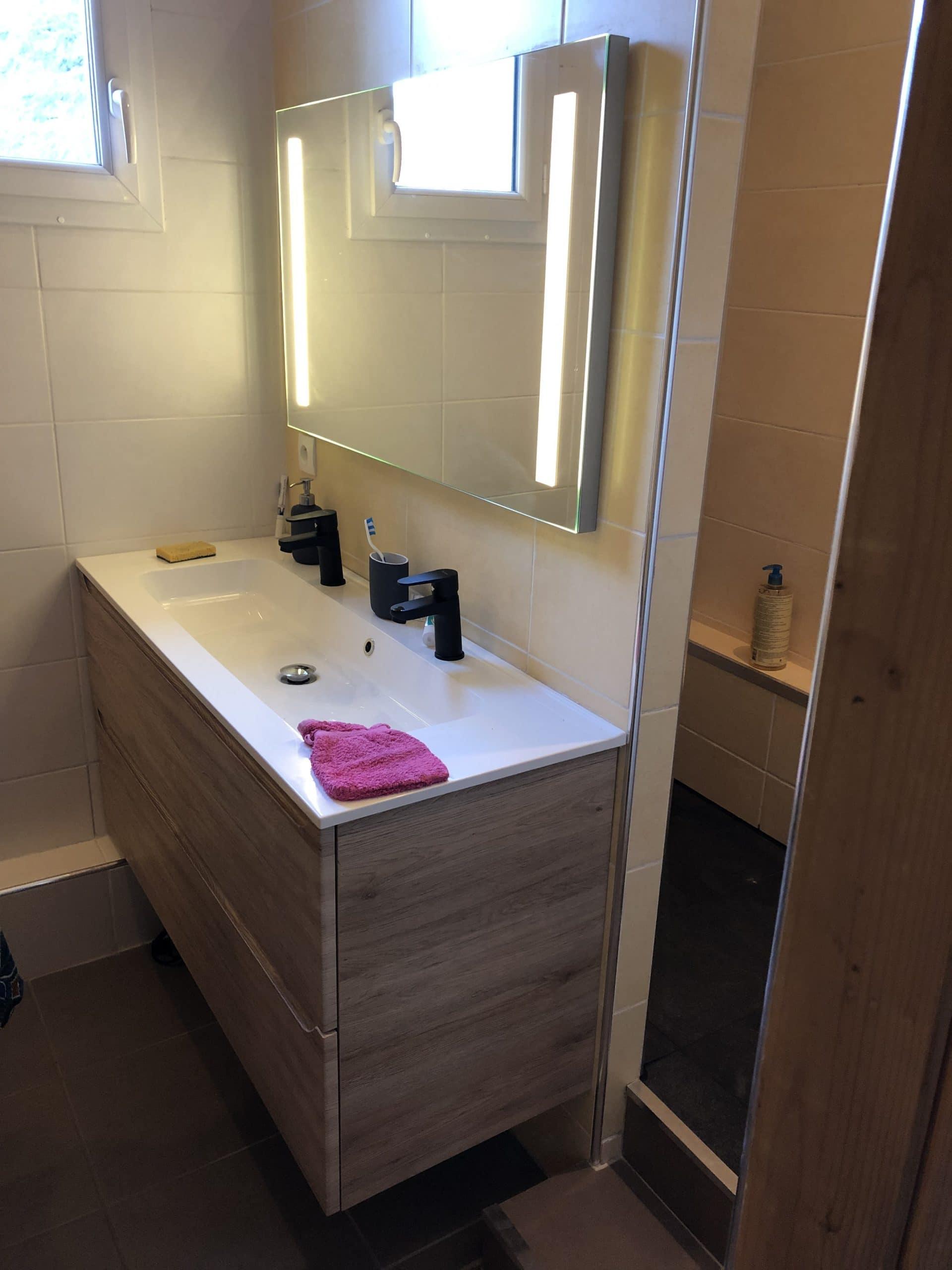 Moderniser Salle De Bain moderniser une salle de bain à saint-maurice-de-beynost - illico travaux