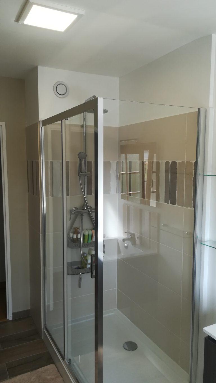Transformation d'une salle d'eau à Armentières (59)