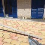 rénovation terrasse carreaux terre cuite Cannes