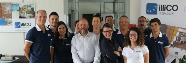 Nouveau responsable d'agence illiCO travaux sur Carcassonne