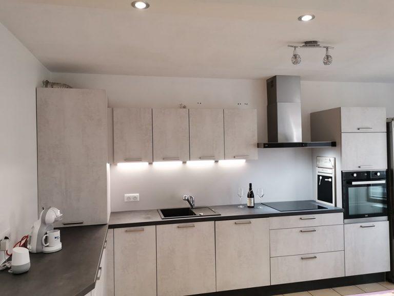 Création d'une cuisine équipée à Hoenheim (67)