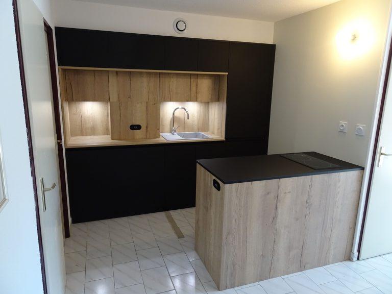 Réfection d'une cuisine à La Grande-Motte (34)