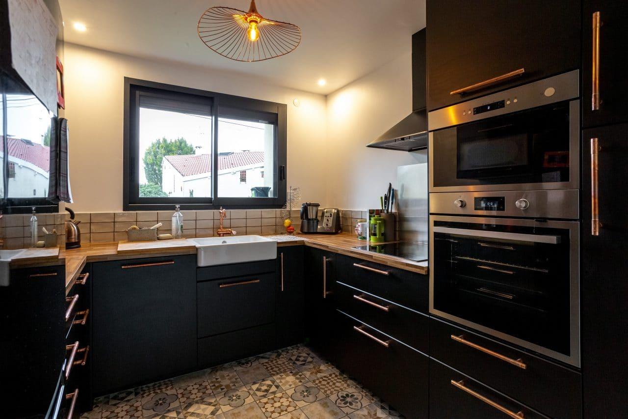 rénovation maison Toulouse cuisine