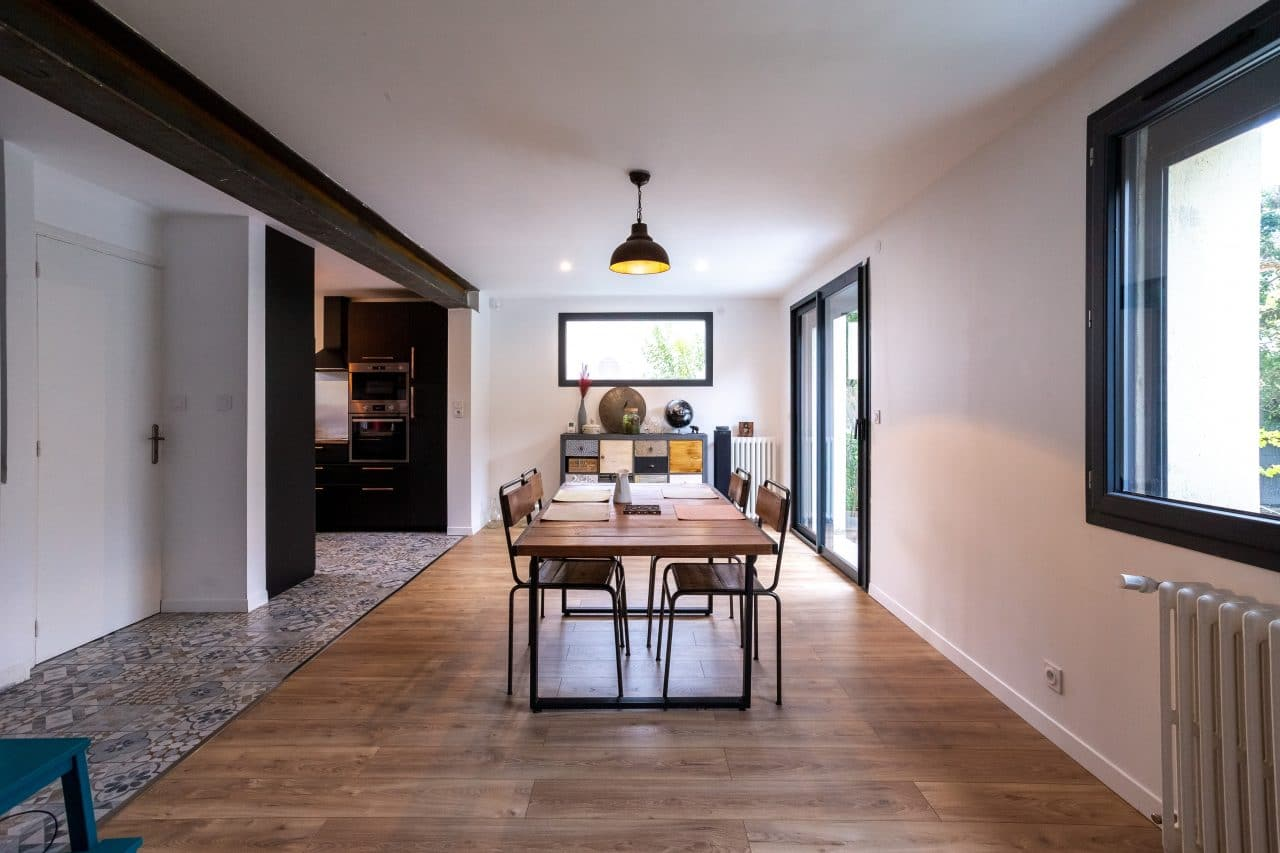 rénovation maison Toulouse salle à manger