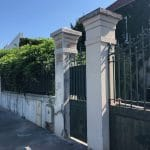 rénovation poteau mouluré mur artisan maçon Villeurbanne