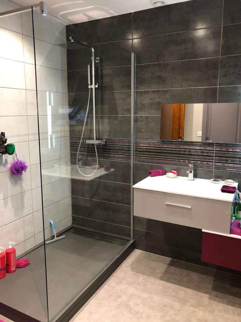 Rénovation totale d'une salle d'eau à Annay-sous-Lens (62)