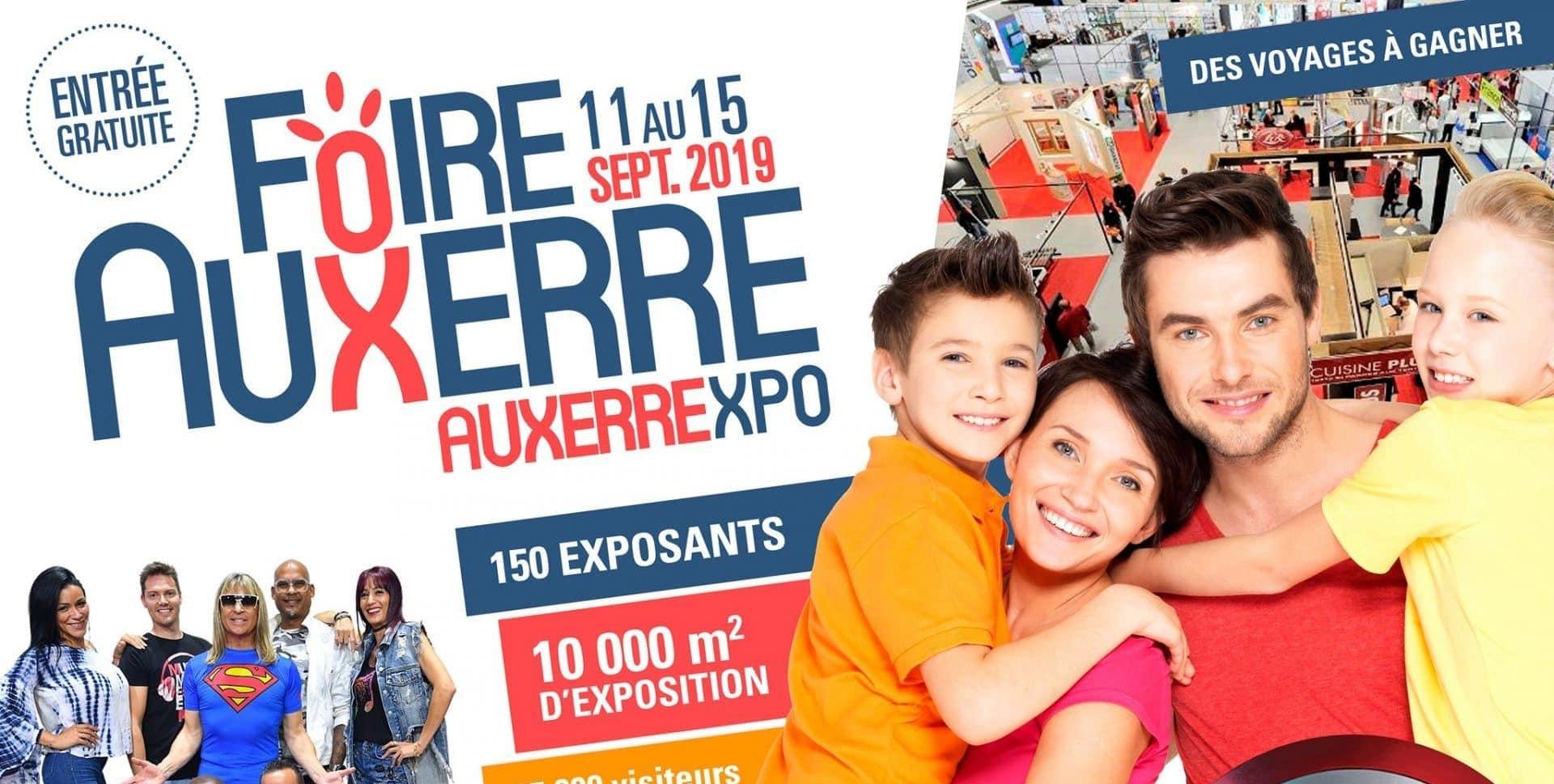 Claire Sadier présente à la Foire d'Auxerre