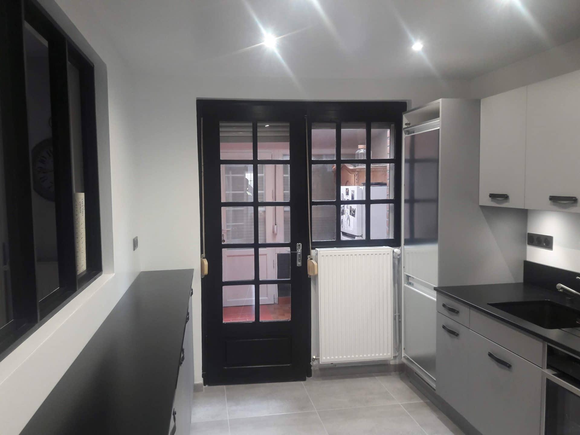 Modernisation complète d'une cuisine à Lesquin (59)