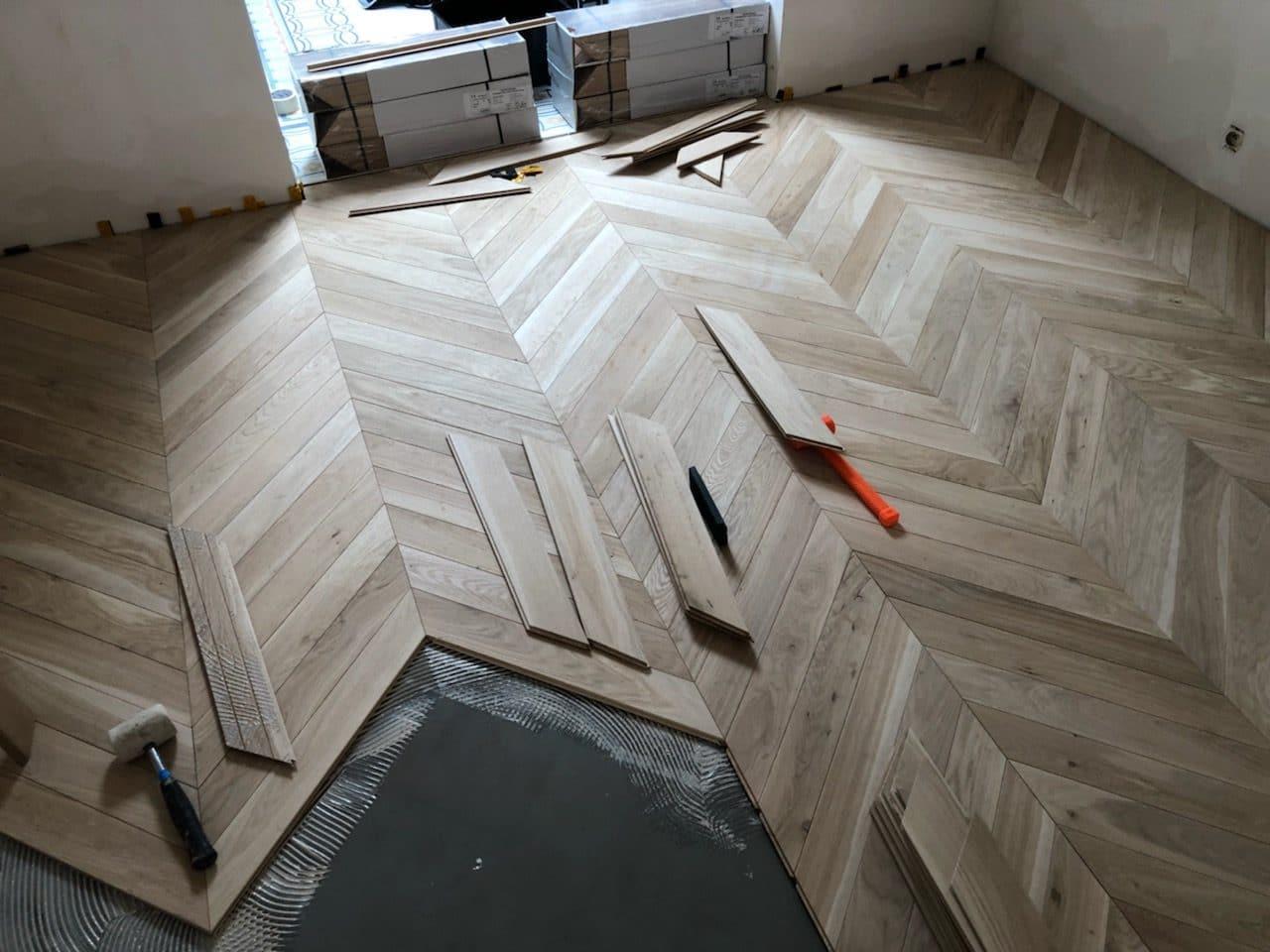 rénovation intérieure d'une maison à Lille