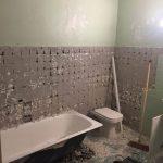 rénovation salle de bain dépose avant travaux Cannes
