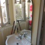 modernisation studio lavabo salle d'eau avant travaux Villefranche-sur-Saône