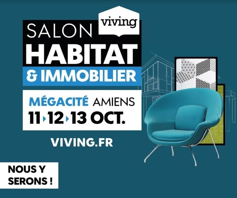 Notre expert illiCO travaux d'Amiens au salon Habitat et Immobilier VIVING d'Amiens