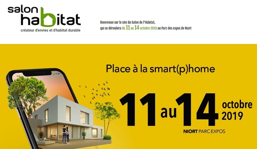 Rendez-vous au Salon de l'Habitat à Niort !