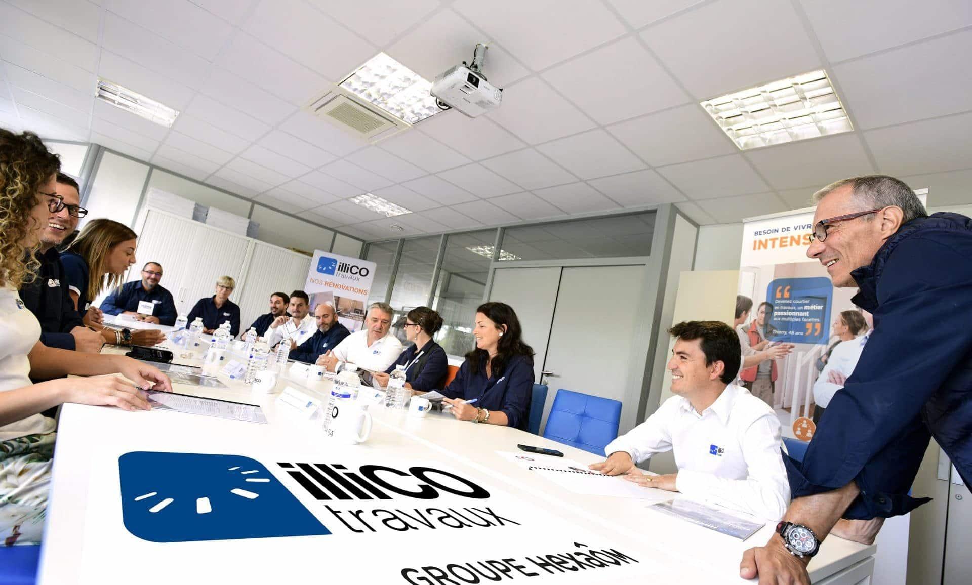 Tournage Figaro Classifieds pour illiCO travaux