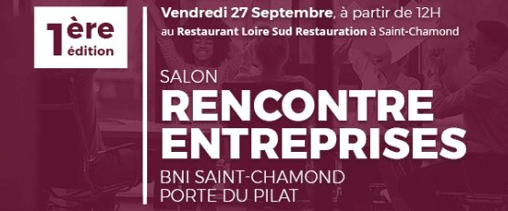 Retrouvez Monique Germain au salon BNI Saint-Chamond