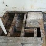 rénovation d'un appartement suite dégât des eaux : avant les travaux
