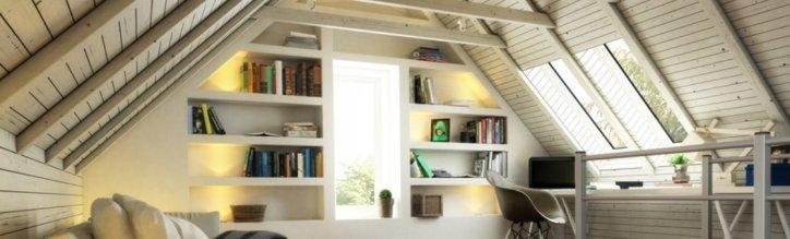 devis et prix pour l'aménagement de vos combles : création d'un salon