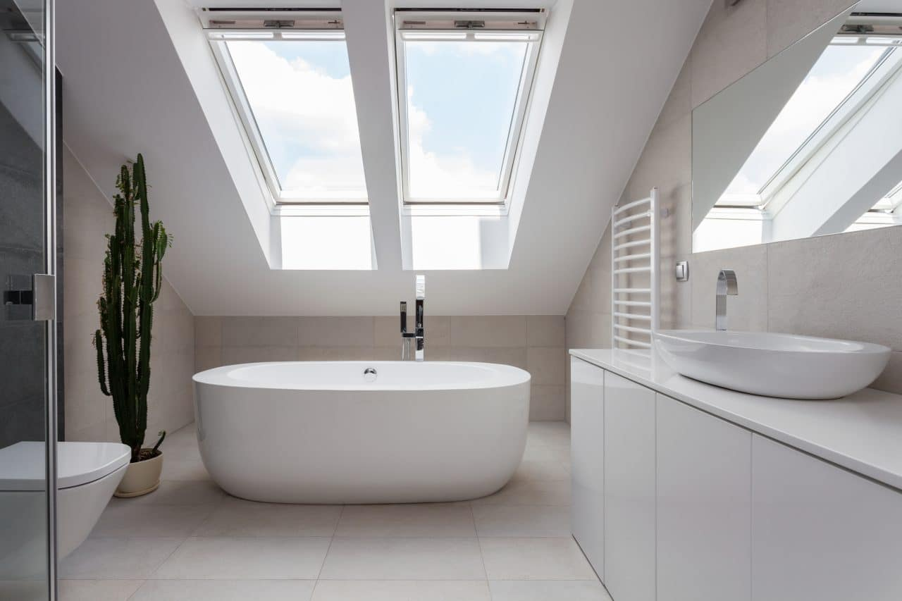 aménagement de combles à Lille salle de bain