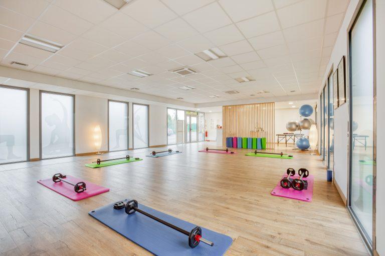 Aménagement d'une salle de pilates à Riantec (56)