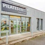 aménagement salle de pilates devanture entrée Riantec