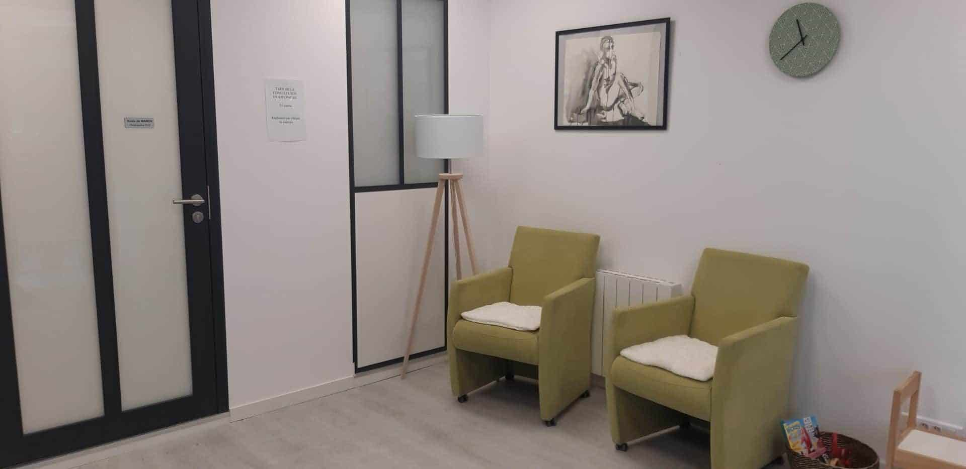 Rénovation complète d'un cabinet médical à Nantes Sud (44)