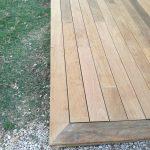 création d'une terrasse en bois à Muret