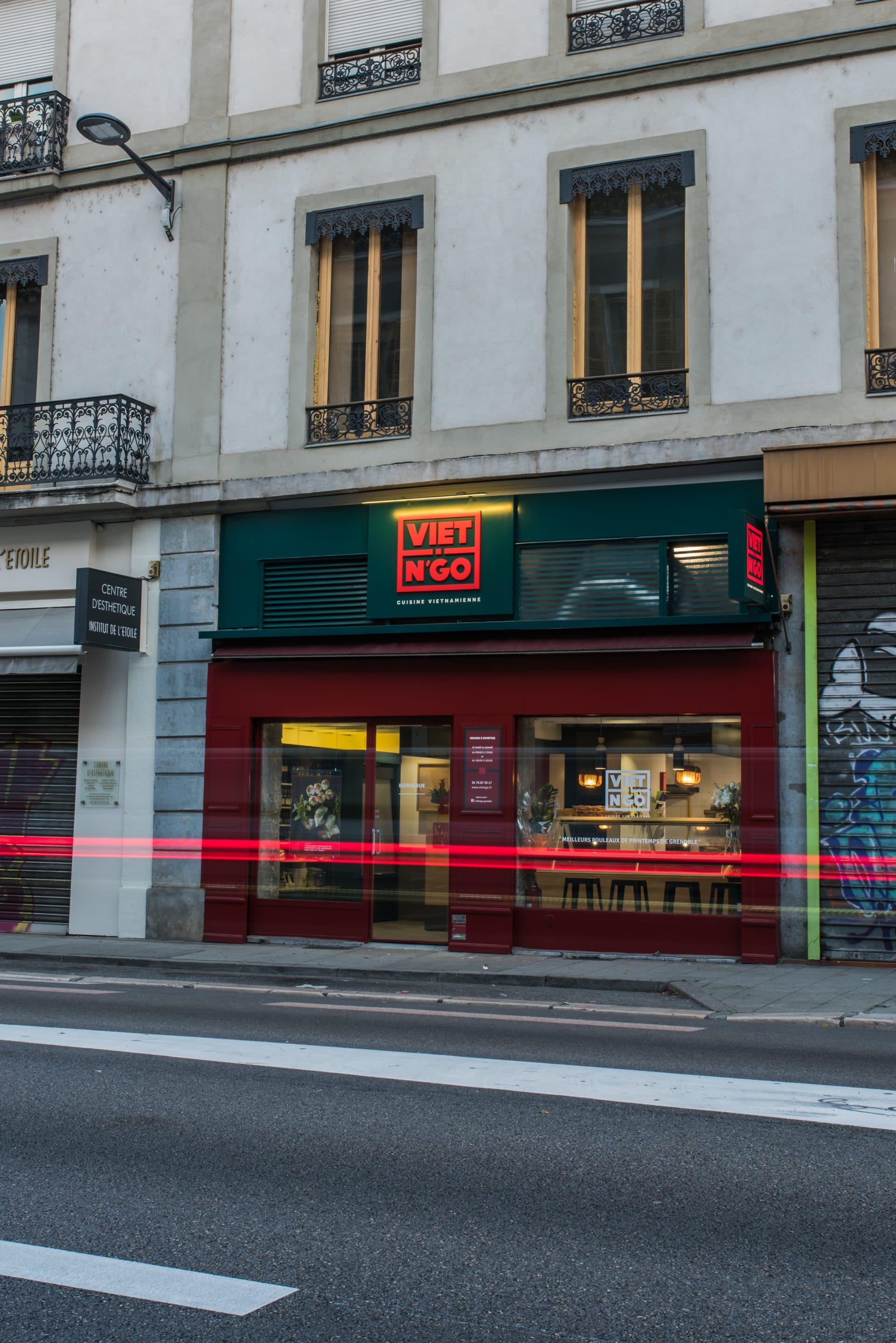 Rénovation d'un restaurant asiatique à Grenoble (38)